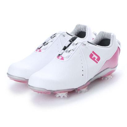 フットジョイ FootJoy レディース ゴルフ ダイヤル式スパイクシューズ 18 WO DJ ボア WT/PI 9248856338 14