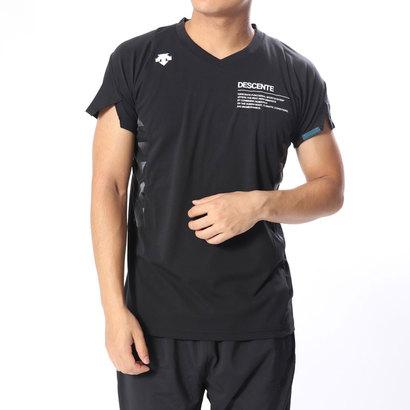 あす楽 交換 返品可能 デサント DESCENTE DVUMJA50 バレーボールウェア 物品 バレーボール 半袖プラクティスシャツ 新品未使用正規品 ロコンド