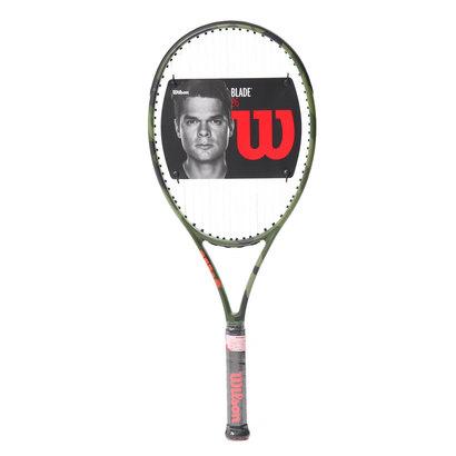 ウィルソン Wilson ジュニア 硬式テニス 張り上がりラケット ブレード 26 カモフラージュ WRT534400