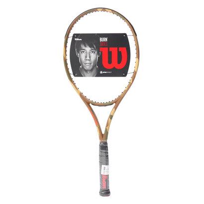 【アウトレット】ウィルソン Wilson 硬式テニス 未張りラケット バーン 100LS カモフラージュ WRT7412201