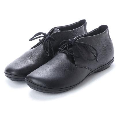 カンペール CAMPER RIGHT NINA / ブーツ ハイカット プレーン フラット (ブラック)