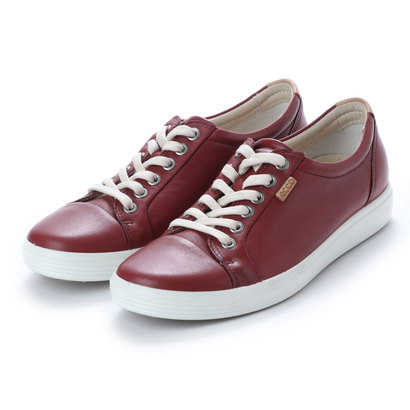 エコー ECCO Womens Soft 7 Sneaker (FIRED BRICK)
