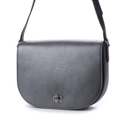 エコー ECCO Kauai Medium Saddle Bag (METALLIC GREY/LICORICE)