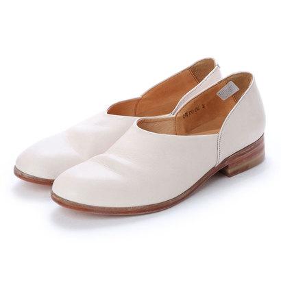 ディガウト DIGOUT CHET (Washed Side Slit Shoes) (WHITE)