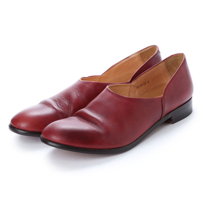 ディガウト DIGOUT CHET (Washed Side Slit Shoes) (RED BROWN)