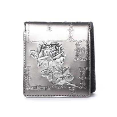 アルセラピィ artherapie フィセルローズ 二つ折り財布 (シルバー)