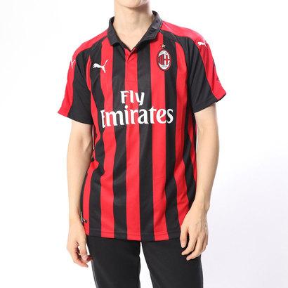プーマ PUMA メンズ サッカー/フットサル ライセンスシャツ AC MILAN SS ホーム レプリカシャツ 754419