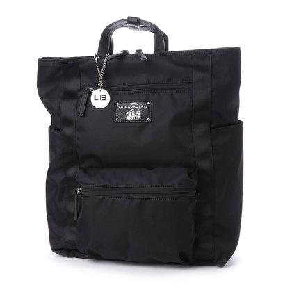 当季大流行 ラ LA バガジェリー バガジェリー LA BAGAGERIE 10ポケットスクエアリュック (BLACK) (BLACK), ブランドショップドリーム:815923d8 --- scottwallace.com
