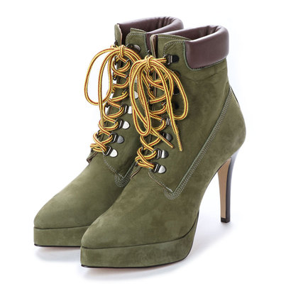 ディガウト DIGOUT BEY (Pin Heels Work Boots) (KHAKI)