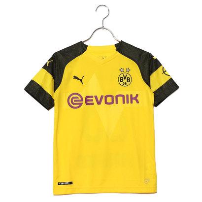 プーマ PUMA ジュニア サッカー/フットサル ライセンスシャツ BVB キッズ ホーム レプリカシャツ(23番 香川) 8339530048