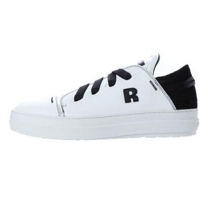 【アウトレット】ルコライン RUCO LINE 2375 VELOUR VIP WHITE BLACK (WHITE BLACK)