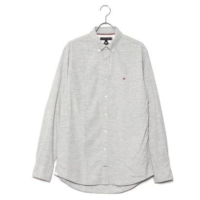 トミーヒルフィガー TOMMY HILFIGER コーデュロイボタンダウンシャツ (ライトグレー)