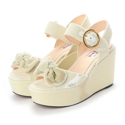 ディガウト DIGOUT OLIVIA (Platform Sandals) (WHITE)