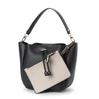 ゲス GUESS ELLA MINI BUCKET (BLACK)