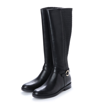 【アウトレット】コール ハーン COLE HAAN リーラ グランド ライディング ブーツ womens (ブラック レザー / ブラック)