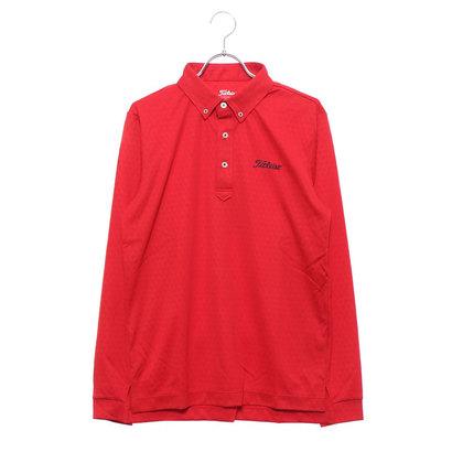 タイトリスト Titleist メンズ ゴルフ 長袖シャツ ダイヤ柄ウォーターリペレントシャツ 9683199770