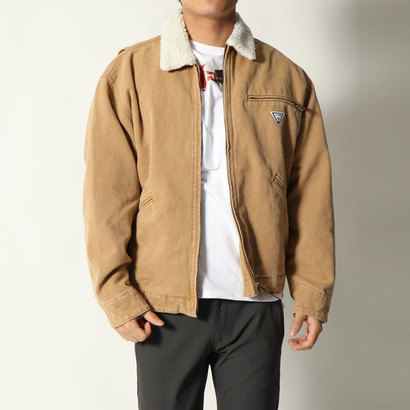 【アウトレット】ゲス GUESS LOGO WORK JACKET (SAND BEIGE)