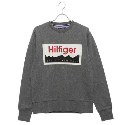 トミーヒルフィガー TOMMY HILFIGER NY ロゴ スウェット シャツ (グレー)