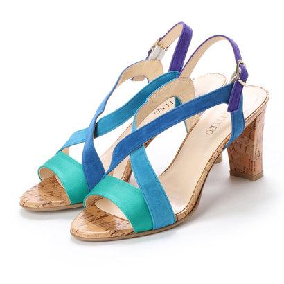 アンタイトル シューズ UNTITLED shoes クロスサンダル (ブルーコンビ)