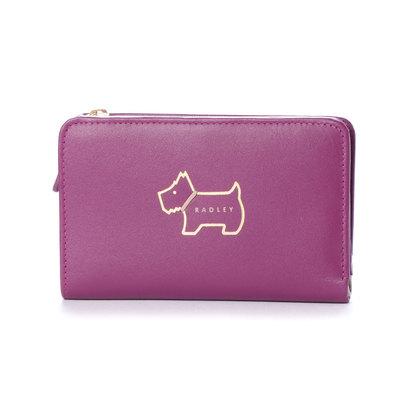 ラドリー ロンドン RADLEY LONDON HERITAGE DOG OUTLINE 財布 パープル (PURPLE)