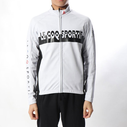 ルコックスポルティフ le coq sportif メンズ バイシクル サイクルジャージ/ジャケット 3Lボンディングジャケット QCMMGC64