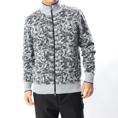 アディダス adidas メンズ ゴルフ 長袖セーター JP CP L/S フルジップセーター U31084
