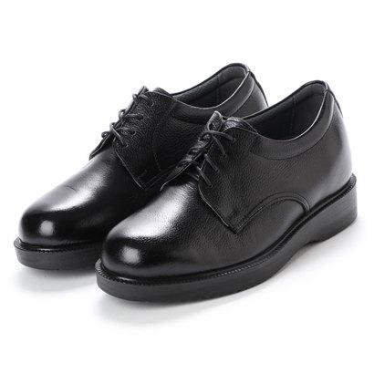 キタジマ 北嶋製靴 【5.5cmアップ】牛革ソフトビジネス シークレットシューズ ビジネスシューズ 幅広 本革日本製 No.911 (ブラック)