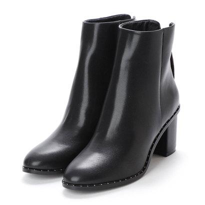 【アウトレット】ヌエール nouer PECHINCHAR スタッズデザインショートブーツ (ブラック)