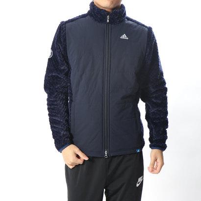 アディダス adidas メンズ ゴルフ 長袖トレーナー JP adicross ボア L/S フルジップスウエット U31373
