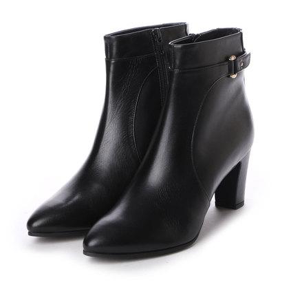 アンタイトル シューズ UNTITLED shoes ベルト付きショートブーツ UT6420 (ブラック)