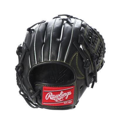 ローリングス Rawlings 軟式野球 野手用グラブ ジュニアHYPER TECH(GJ9HTG9M-BK) J00621828