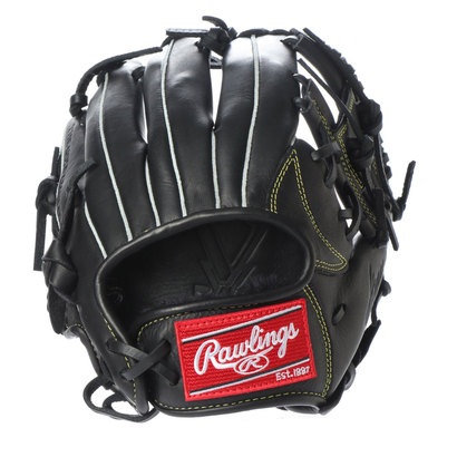 ローリングス Rawlings 軟式野球 野手用グラブ ジュニアHYPER TECH(GJ9HTGSS-BK) J00621819