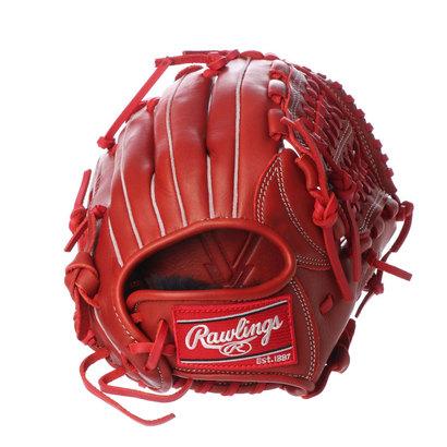 ローリングス Rawlings 軟式野球 野手用グラブ ジュニアHYPER TECH(GJ9HTG9M-RD) J00621830