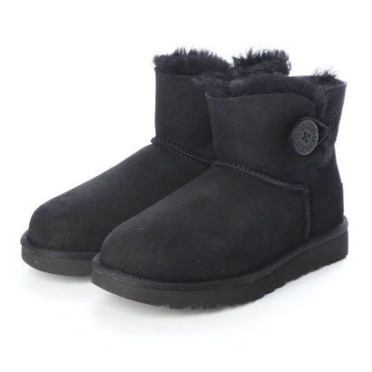 アグ UGG UGG 1016422 W MINI BAILEY BUTTON 2 ブラック (BLACK)