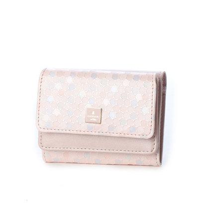 ランバン オン ブルー LANVIN en Bleu レポワン 3つ折り財布 (ピンク)