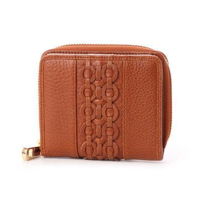 パリオ PALIO 【MORITA & Co.】 二つ折り財布 (ブラウン)