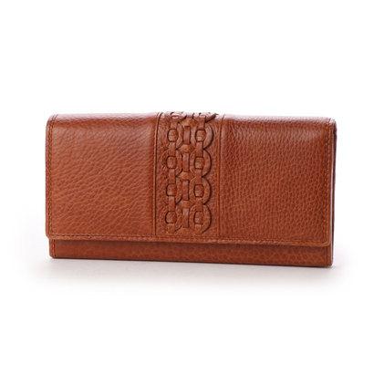 パリオ PALIO 【MORITA & Co.】 かぶせ長財布 (ブラウン)
