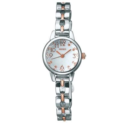 SEIKO ワイアード WIRED エフ 腕時計 国産 レディース AGEK415