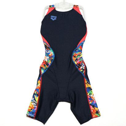アリーナ arena レディース 水泳 競泳水着 セイフリーバックスパッツ(着やストラップ) ARN-9064W
