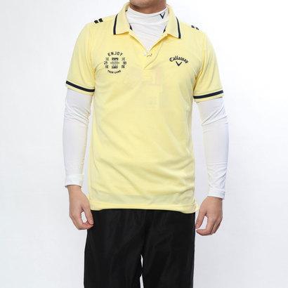 キャロウェイ Callaway メンズ ゴルフ セットシャツ トリコットピケAP別注ポロシャツ+インナーセット 2419151502
