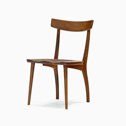 IDC OTSUKA/大塚家具 椅子 フィル2HOC-332板座/WN2 (ウォールナット)【返品不可商品】