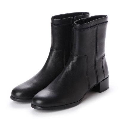 【アウトレット】ラファム L'famme ショートブーツ (ブラック)