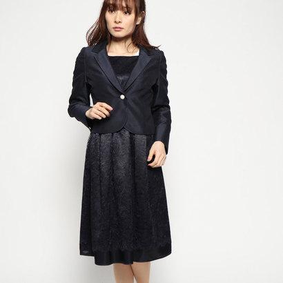 ブラックギャラリー BLACK GALLERY シャンタンリバーシブルマザースーツ (ネイビー)