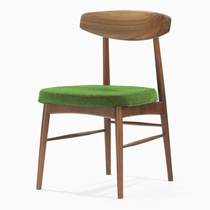 IDC OTSUKA/大塚家具 椅子 ユノA WN/カバー布#2 ライトグリーン (ライトグリーン)【返品不可商品】