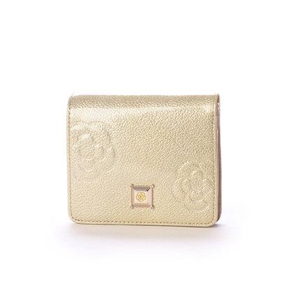 クレイサス CLATHAS マリーゴールド 2つ折り財布 (ゴールド)