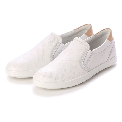 エコー ECCO LEISURE Slip-on (WHITE/POWDER)