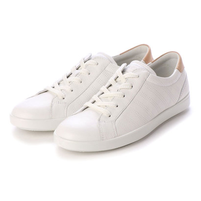 エコー ECCO LEISURE Shoe (WHITE/POWDER)
