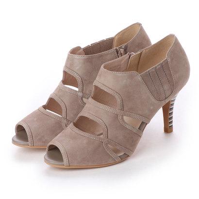 アンタイトル シューズ UNTITLED shoes オープントゥパンプス (オークスエード)