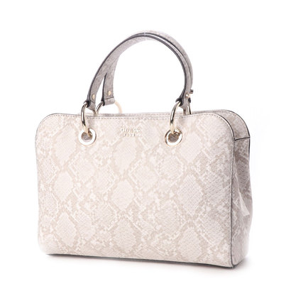 ゲス GUESS DIXIE SATCHEL (NATURAL PYTHON)