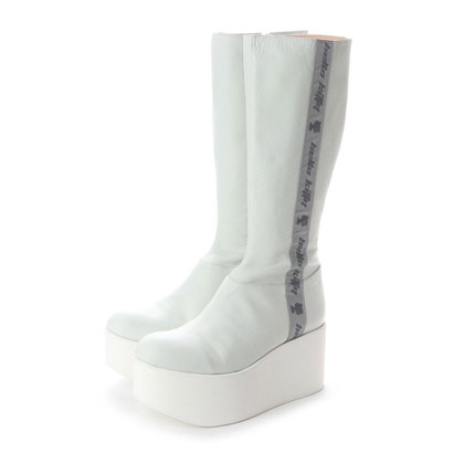 ディガウト DIGOUT MARC (Original Leather Platform Boots) (WHITE)